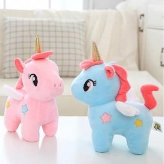 Pelúcia Brinquedo Para Meninas Unicórnio Princesas Decoração