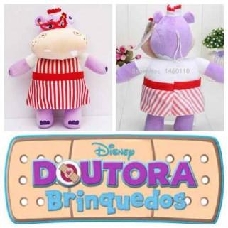 Pelúcia Grande Doutora Brinquedos Hellie Hipopotamo