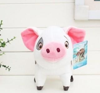 Porco Princesa Moana Disney - Porquinho Puá Pelúcia 22cm