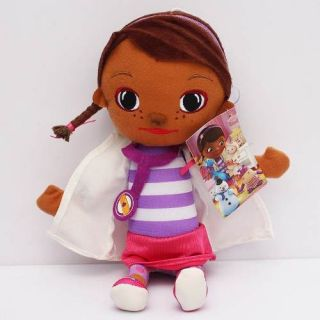 Boneca De Pelúcia Grande Doutora Brinquedos Doc Mcstuffins