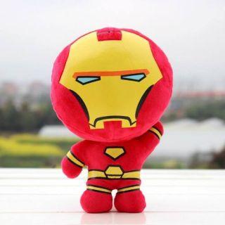 Boneco De Pelúcia Homem De Ferro Iron Man Vingadores Criança