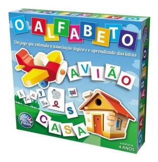 Jogo Educativo Alfabeto Brinquedos Pedagógicos