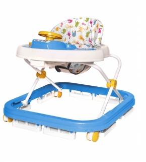 Andador Infantil musical azul Carrinho E Volante Styll Baby