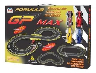 Autorama Elétrico Formula Gp Max Carrinho Brinquedos