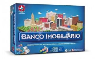 Banco Imobiliário Jogo De Tabuleiro Clássico - Estrela