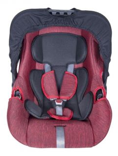 Bebê Conforto para recém nascidos até 12 meses G0 13Kg Vermelho Mesclado