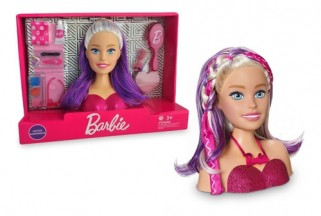 Boneca Barbie Busto Styling Head Faces Maquiagem - Puppe