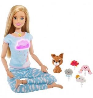 Boneca Barbie Medita Comigo Com Acessórios Mattel