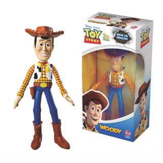 Boneco Toy Story Wood Xerife Vinil Articulado Brinquedo - Lider