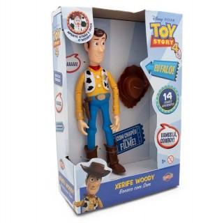 Boneco Woody Toy Story Xerife Com Som Original
