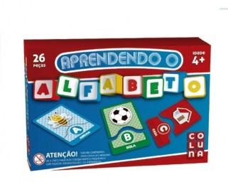 Brinquedo Educativo Aprendendo Alfabeto Pedagógico