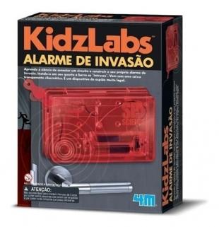 Brinquedo Educativo Científico Kit Alarme De Invasão 4m