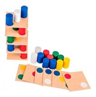 Torre Inteligente Brinquedo Montessori Pedagógico Madeira