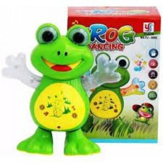 Sapinho Musical Luzes Brinquedo Para Bebês e Crianças