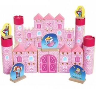 Brinquedo Pedagógico Castelo Da Princesa Bloco De Montar