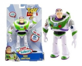 Buzz Lightyear frases boneco Toy Story brinquedo eletrônico