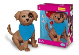 Cachorro De Brinquedo Da Barbie Pet Shop Rookie
