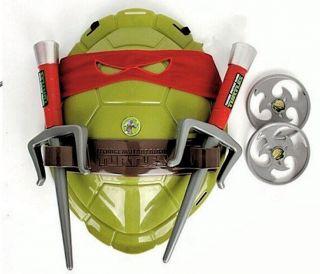 Fantasia Infantil Tartarugas Ninja Raphael Bandana Vermelha e acessórios