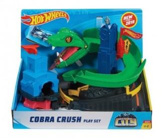 Hot Wheels City Ataque De Cobra City Pista Mattel