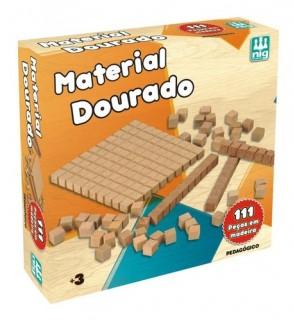 Material Dourado Pedagógico Brinquedo Educativo