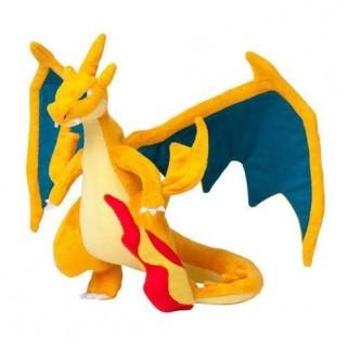 Pokemon Brinquedo Mega Charizard Y Laranja  Pelucia Charizard