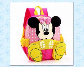 Mochila Infantil Bolsa Criança Minnie Mouse