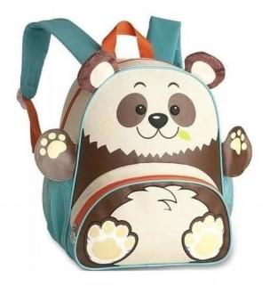 Mochila Infantil Ursinho Panda Pets