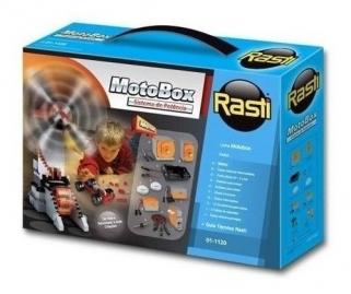 MotoBox Sistema De Potência Brinquedo Educativo Para Montar Rasti