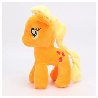 Pelúcia Pônei Laranja Unicornio My Little Pony Applejack