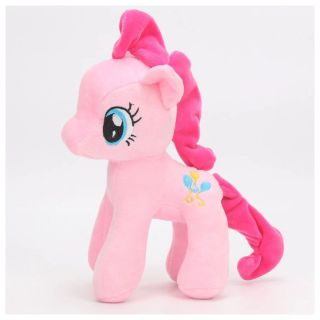 Pelúcia Pônei Rosa Pink Unicórnio My Little Pony Pinkie Pie