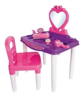Penteadeira Infantil Master Fashion Espelho Cadeira e Itens