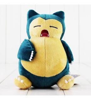 Boneco de pelúcia Pokemon Snorlax bocejando
