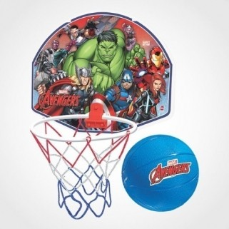 Cesta De Basquete Vingadores Brinquedo Infantil tabela Avengers