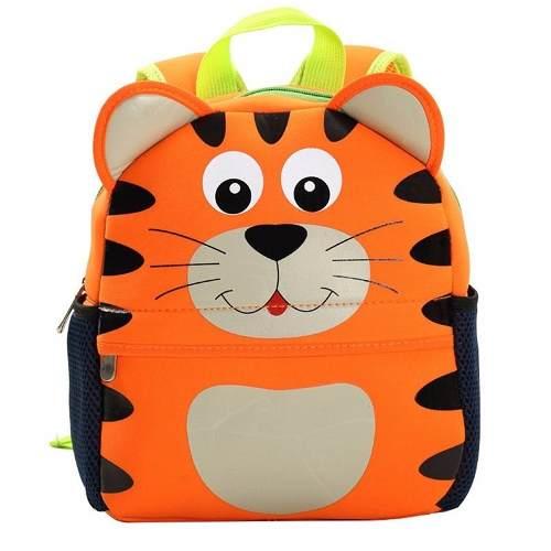 Mochila Infantil Tigre Crianças Animal Zoo Tigrinho