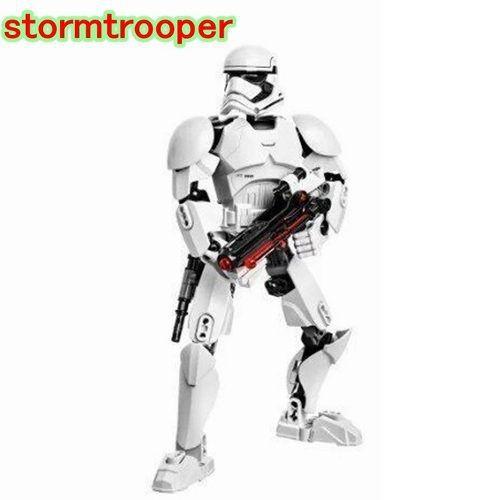 Boneco Star Wars 25 Cm Soldado Branco Stormtrooper Lego
