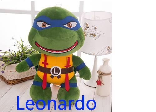 Tartaruga Ninja Leonardo Pelúcia Leo