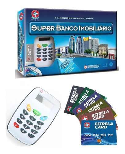 Super Banco Imobiliário Com Máquina De Cartão - Estrela