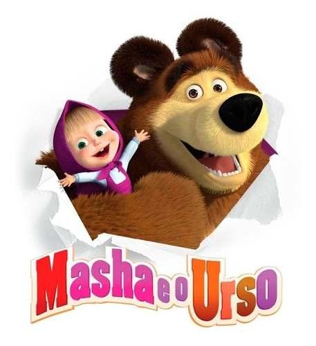 Boneca Masha Falante Original Estrela Desenho Masha E Urso
