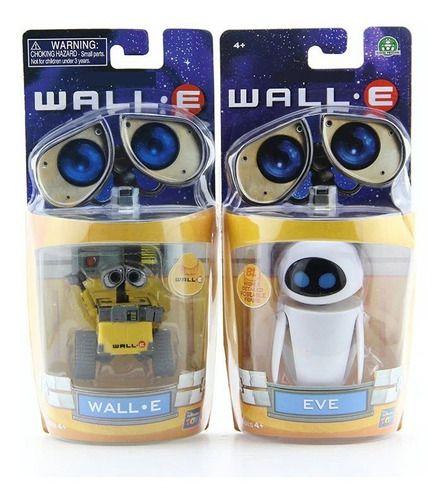 Brinquedos Wall-e E Eva Colecionáveis Disney Pixar