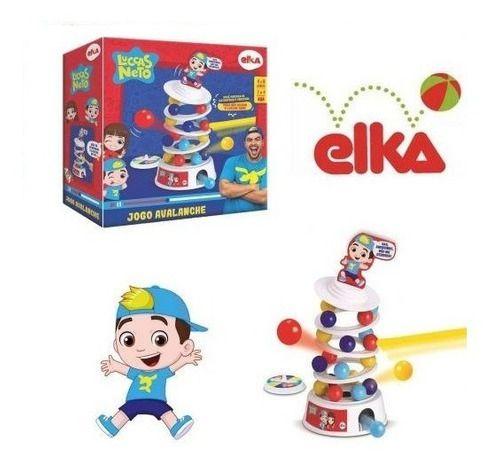 Jogo Avalanche Luccas Neto Brinquedo Infantil Original