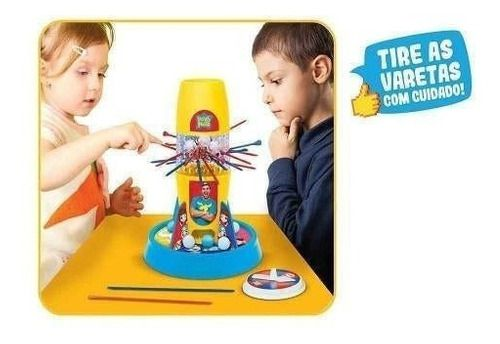 Jogo Tira Varetas Luccas Neto Brinquedo Infantil Original