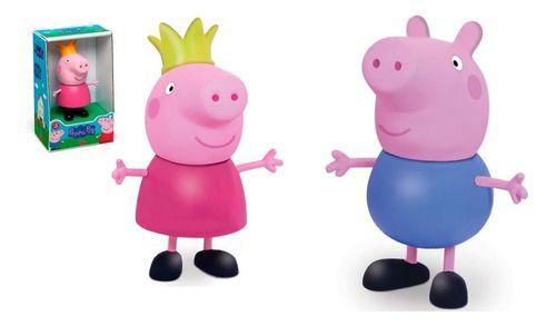 Peppa Pig E George Kit Brinquedo Boneca Originais