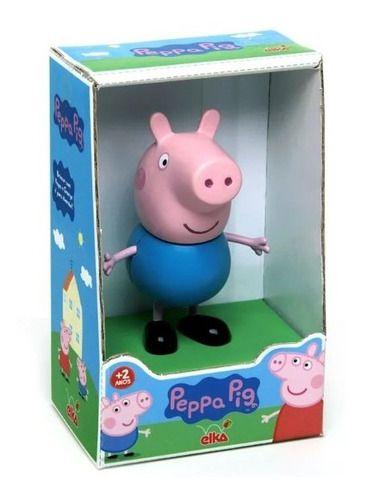Peppa Pig e George Brinquedo Boneca Originais - Elka