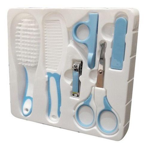 Cuidados do Bebê Higiene Pente Cortador Unha Tesoura Escova