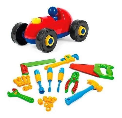 Caixa De Ferramentas Infantil Brinquedo Didático Bancada