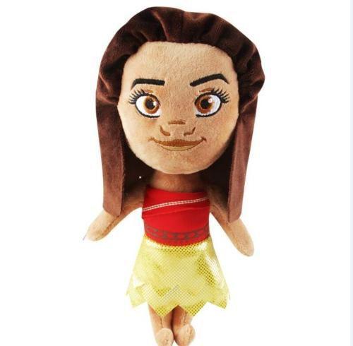 Boneca De Pano Princesa Moana Disney Pelúcia 22cm