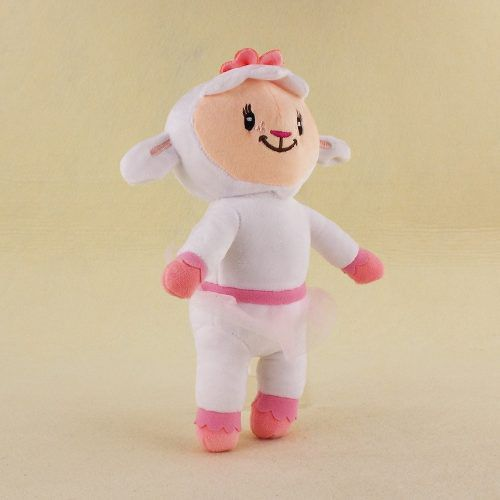 Pelúcia Grande Doutora Brinquedos Lambie Ovelhinha Branca