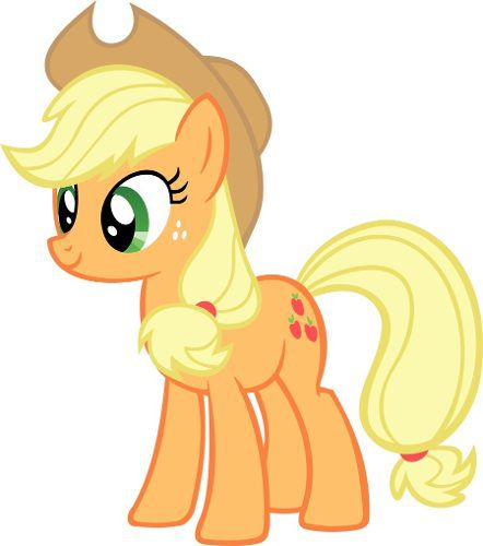 Pelúcia Pônei Laranja Unicornio My Little Pony Applejack