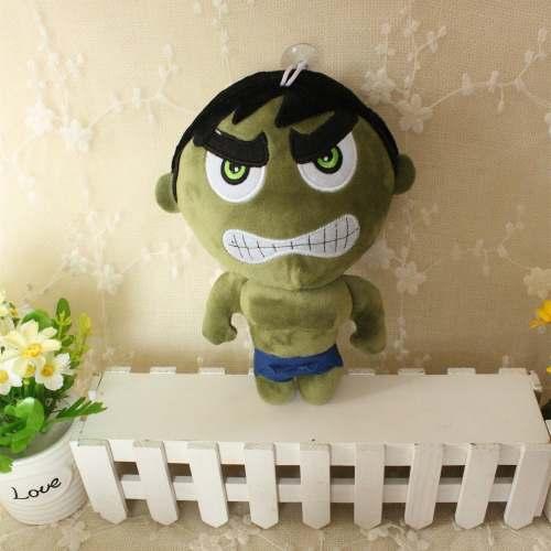 Brinquedo De Pelúcia Meninos Hulk Verde Filme Vingadores