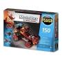 Blocos de Montar Carrinho Com Motor Brinquedo Educativo Motobox Buggy Atv 500 Rasti